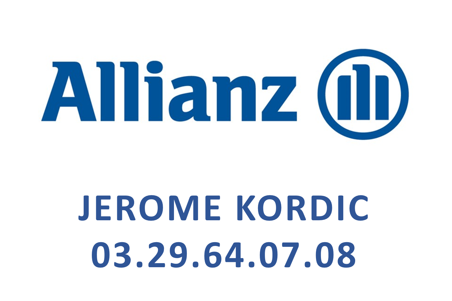 Allianz Jerome Kordic